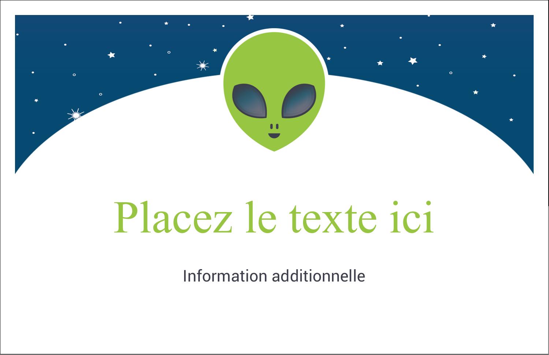 """8½"""" x 11"""" Cartes Et Articles D'Artisanat Imprimables - Fête d'extraterrestres"""
