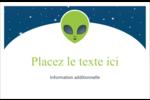 Fête d'extraterrestres Cartes Et Articles D'Artisanat Imprimables - gabarit prédéfini. <br/>Utilisez notre logiciel Avery Design & Print Online pour personnaliser facilement la conception.