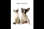 Adorables animaux de compagnie Cartes Et Articles D'Artisanat Imprimables - gabarit prédéfini. <br/>Utilisez notre logiciel Avery Design & Print Online pour personnaliser facilement la conception.