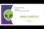 Fête d'extraterrestres Étiquettes de classement écologiques - gabarit prédéfini. <br/>Utilisez notre logiciel Avery Design & Print Online pour personnaliser facilement la conception.