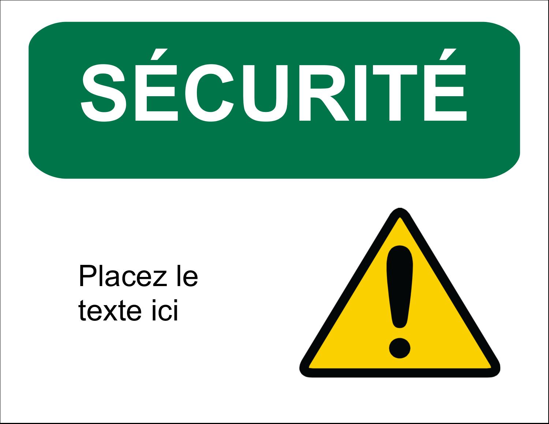 """1¾"""" x ½"""" Étiquettes D'Identification - Sécurité et prévention"""
