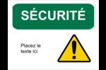 Sécurité et prévention Étiquettes D'Identification - gabarit prédéfini. <br/>Utilisez notre logiciel Avery Design & Print Online pour personnaliser facilement la conception.