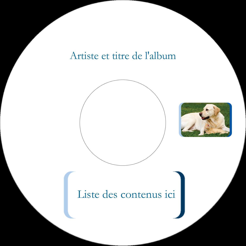 CD/DVD Étiquettes Pour Médias - TBD