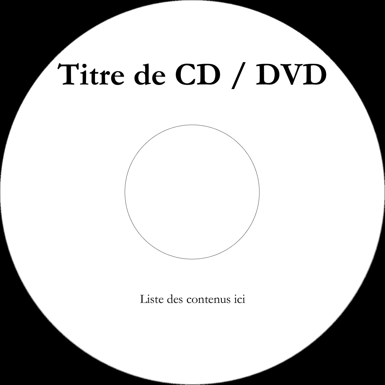 CD/DVD Étiquettes Pour Médias - Adorables animaux de compagnie