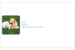Soins aux animaux de compagnie Étiquettes d'expéditions - gabarit prédéfini. <br/>Utilisez notre logiciel Avery Design & Print Online pour personnaliser facilement la conception.