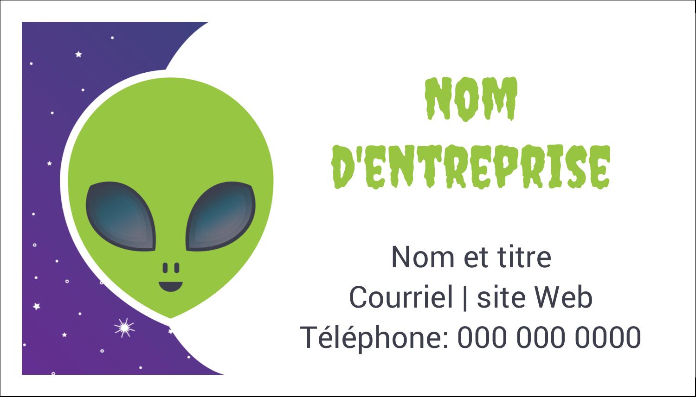 """3"""" x 5"""" Cartes Pour Le Bureau - Fête d'extraterrestres"""
