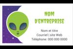 Fête d'extraterrestres Cartes Pour Le Bureau - gabarit prédéfini. <br/>Utilisez notre logiciel Avery Design & Print Online pour personnaliser facilement la conception.