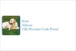 Soins aux animaux de compagnie Étiquettes Polyvalentes - gabarit prédéfini. <br/>Utilisez notre logiciel Avery Design & Print Online pour personnaliser facilement la conception.