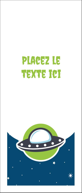 """2"""" x 3½"""" Cartes Pour Le Bureau - Fête d'extraterrestres"""