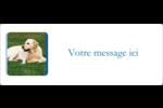 Soins aux animaux de compagnie Étiquettes D'Adresse - gabarit prédéfini. <br/>Utilisez notre logiciel Avery Design & Print Online pour personnaliser facilement la conception.