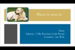 Soins aux animaux de compagnie Carte d'affaire - gabarit prédéfini. <br/>Utilisez notre logiciel Avery Design & Print Online pour personnaliser facilement la conception.