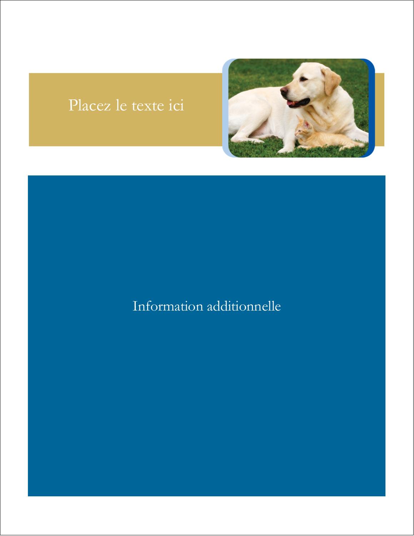"""5½"""" x 4¼"""" Carte Postale - Soins aux animaux de compagnie"""