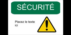 Sécurité et prévention