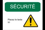 Sécurité et prévention Étiquette Industrielles - gabarit prédéfini. <br/>Utilisez notre logiciel Avery Design & Print Online pour personnaliser facilement la conception.