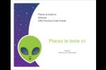 Fête d'extraterrestres Étiquettes d'expédition - gabarit prédéfini. <br/>Utilisez notre logiciel Avery Design & Print Online pour personnaliser facilement la conception.