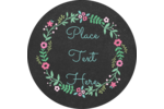 Add charm to a variety of projects with customizable Floral Chalk pre-designed templates.