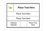 Bring contemporary class to custom projects with printable pre-designed Modern templates.