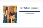 Pinceaux modernes en tons naturels Cartes Et Articles D'Artisanat Imprimables - gabarit prédéfini. <br/>Utilisez notre logiciel Avery Design & Print Online pour personnaliser facilement la conception.