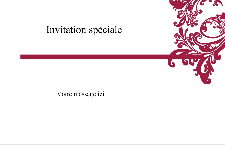 """8½"""" x 11"""" Cartes Et Articles D'Artisanat Imprimables - Art noir et rouge"""