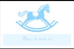 Cheval à bascule Cartes Et Articles D'Artisanat Imprimables - gabarit prédéfini. <br/>Utilisez notre logiciel Avery Design & Print Online pour personnaliser facilement la conception.