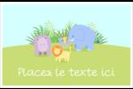 Bébé safari Cartes Et Articles D'Artisanat Imprimables - gabarit prédéfini. <br/>Utilisez notre logiciel Avery Design & Print Online pour personnaliser facilement la conception.