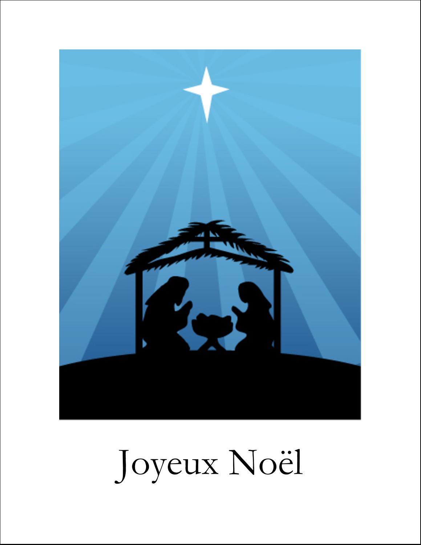 Berceau de Noël Cartes Et Articles D'Artisanat Imprimables - gabarit prédéfini. <br/>Utilisez notre logiciel Avery Design & Print Online pour personnaliser facilement la conception.