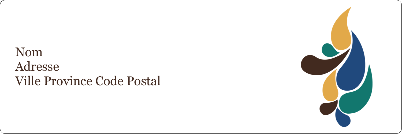 "8½"" x 11"" Intercalaires / Onglets - Pinceaux modernes en tons naturels"