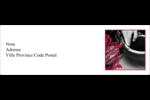 Art noir et rouge  Intercalaires / Onglets - gabarit prédéfini. <br/>Utilisez notre logiciel Avery Design & Print Online pour personnaliser facilement la conception.