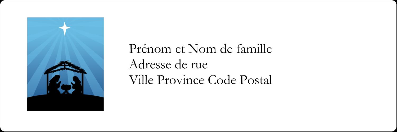 "8½"" x 11"" Intercalaires / Onglets - Berceau de Noël"