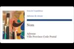 Pinceaux modernes en tons naturels Étiquettes de classement écologiques - gabarit prédéfini. <br/>Utilisez notre logiciel Avery Design & Print Online pour personnaliser facilement la conception.