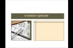 Arche 1 Cartes de notes - gabarit prédéfini. <br/>Utilisez notre logiciel Avery Design & Print Online pour personnaliser facilement la conception.