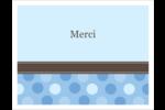 Bébé garçon à petits pois Cartes de notes - gabarit prédéfini. <br/>Utilisez notre logiciel Avery Design & Print Online pour personnaliser facilement la conception.