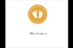 Empreintes de bébé Cartes Et Articles D'Artisanat Imprimables - gabarit prédéfini. <br/>Utilisez notre logiciel Avery Design & Print Online pour personnaliser facilement la conception.