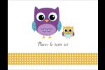 Bébé hibou Cartes Et Articles D'Artisanat Imprimables - gabarit prédéfini. <br/>Utilisez notre logiciel Avery Design & Print Online pour personnaliser facilement la conception.