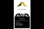Oiseaux en nature Carte d'affaire - gabarit prédéfini. <br/>Utilisez notre logiciel Avery Design & Print Online pour personnaliser facilement la conception.