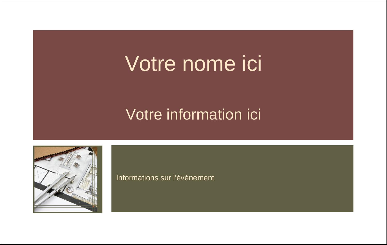 2¼ x 3½ Étiquettes badges autocollants - Arche 1