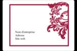 Art noir et rouge  Étiquettes D'Identification - gabarit prédéfini. <br/>Utilisez notre logiciel Avery Design & Print Online pour personnaliser facilement la conception.