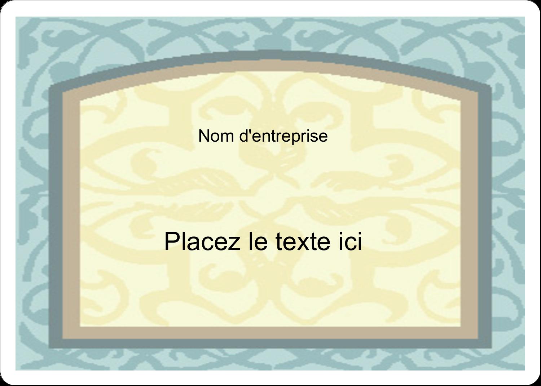 """2⅝"""" x 2"""" Étiquettes D'Identification - Vert d'antan"""