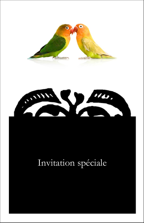 """8½"""" x 11"""" Binder Insert Reliures - Oiseaux en nature"""