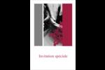 Art noir et rouge  Reliures - gabarit prédéfini. <br/>Utilisez notre logiciel Avery Design & Print Online pour personnaliser facilement la conception.