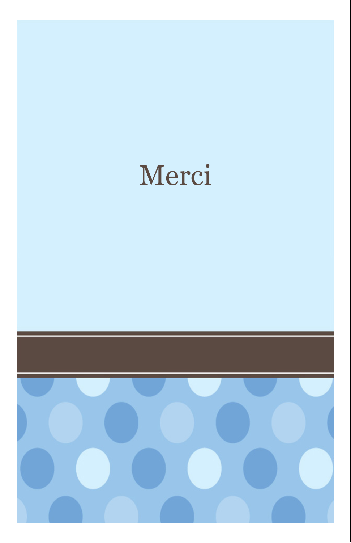 """8½"""" x 5"""" Cartes Et Articles D'Artisanat Imprimables - Bébé garçon à petits pois"""