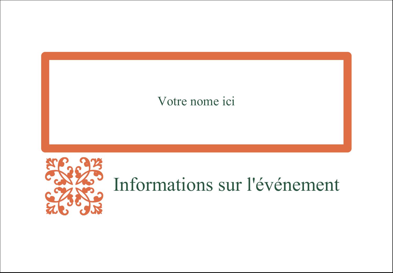 Concept Arc Orange Étiquettes badges autocollants - gabarit prédéfini. <br/>Utilisez notre logiciel Avery Design & Print Online pour personnaliser facilement la conception.