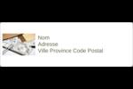 Arche 1 Étiquettes Polyvalentes - gabarit prédéfini. <br/>Utilisez notre logiciel Avery Design & Print Online pour personnaliser facilement la conception.