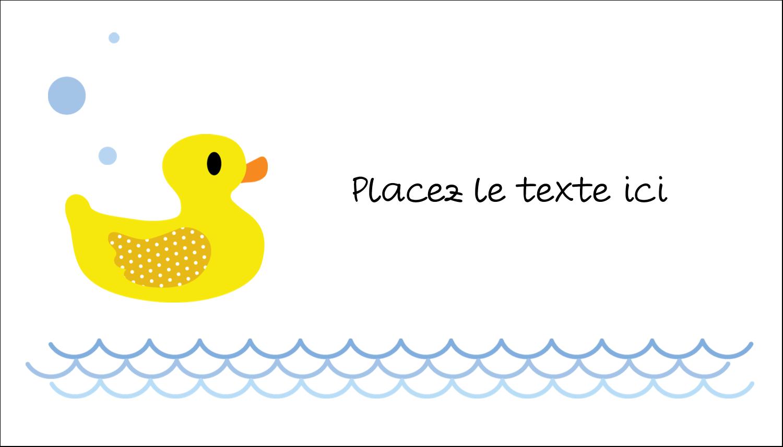 """3"""" x 5"""" Cartes Pour Le Bureau - Petit canard"""