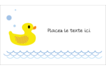 Petit canard Cartes Pour Le Bureau - gabarit prédéfini. <br/>Utilisez notre logiciel Avery Design & Print Online pour personnaliser facilement la conception.