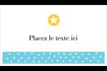 Étoiles avec tons bleus et jaunes Cartes Pour Le Bureau - gabarit prédéfini. <br/>Utilisez notre logiciel Avery Design & Print Online pour personnaliser facilement la conception.