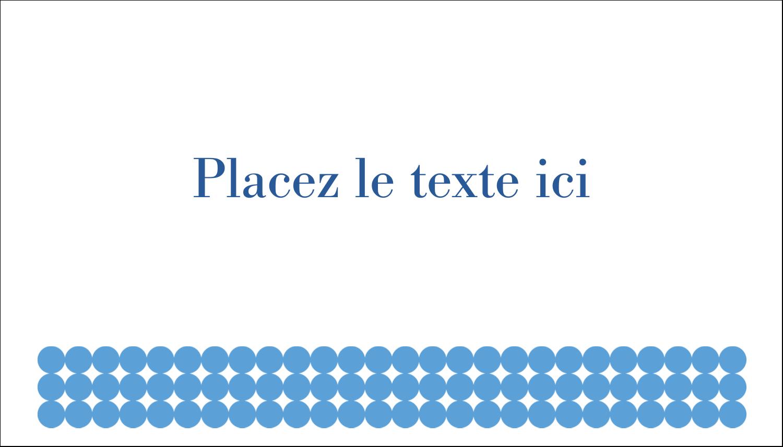 """3"""" x 5"""" Cartes Pour Le Bureau - Cercles bleus"""