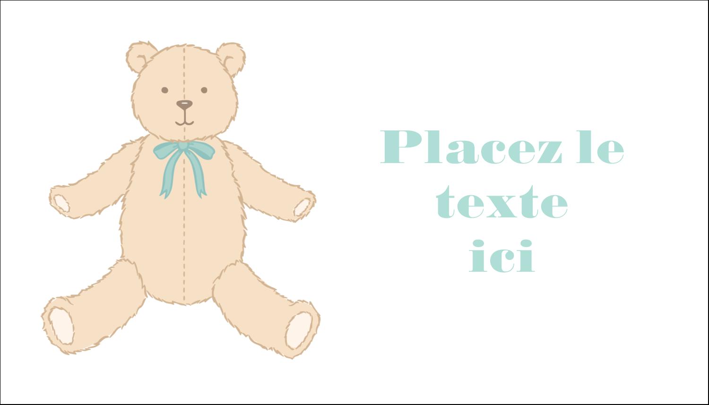"""3"""" x 5"""" Cartes Pour Le Bureau - Nounours pour bébé"""
