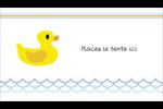 Petit canard Carte d'affaire - gabarit prédéfini. <br/>Utilisez notre logiciel Avery Design & Print Online pour personnaliser facilement la conception.
