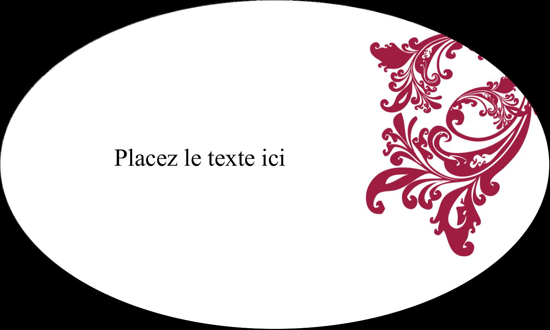 """1½"""" x 1½"""" Étiquettes carrées - Art noir et rouge"""